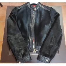 Куртка Dolce Gabbana кожа + мех пони