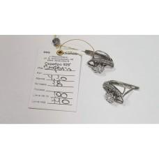 Серебряные серьги 4.10г